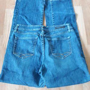CHRISTOPHER BLUE Straight Leg Denim Blue Jeans 14